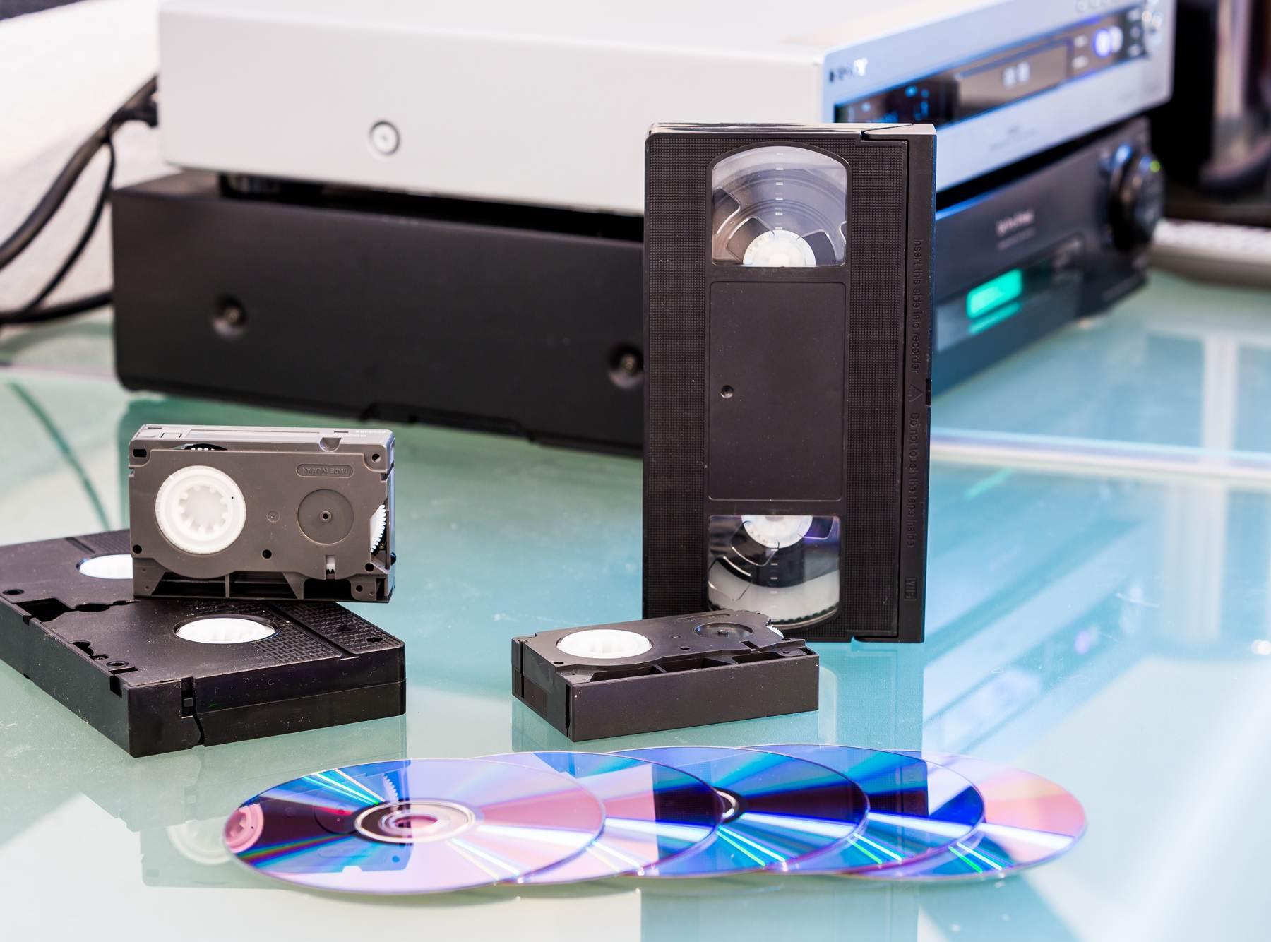 przegrywanie kaset video Białystok